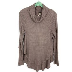 Free People Thermal Top Small Brown